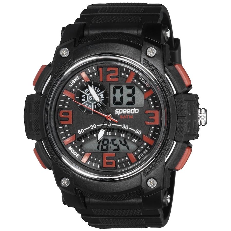 4000c40539c Relógio Digital Analógico Speedo 81085G0EG - Masculino