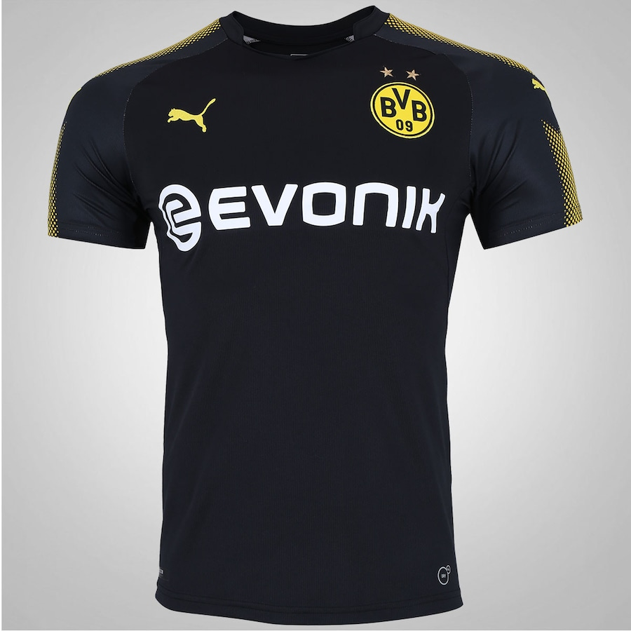 3e115d7b26b44e Camisa Borussia Dortmund II 17/18 Puma - Masculina