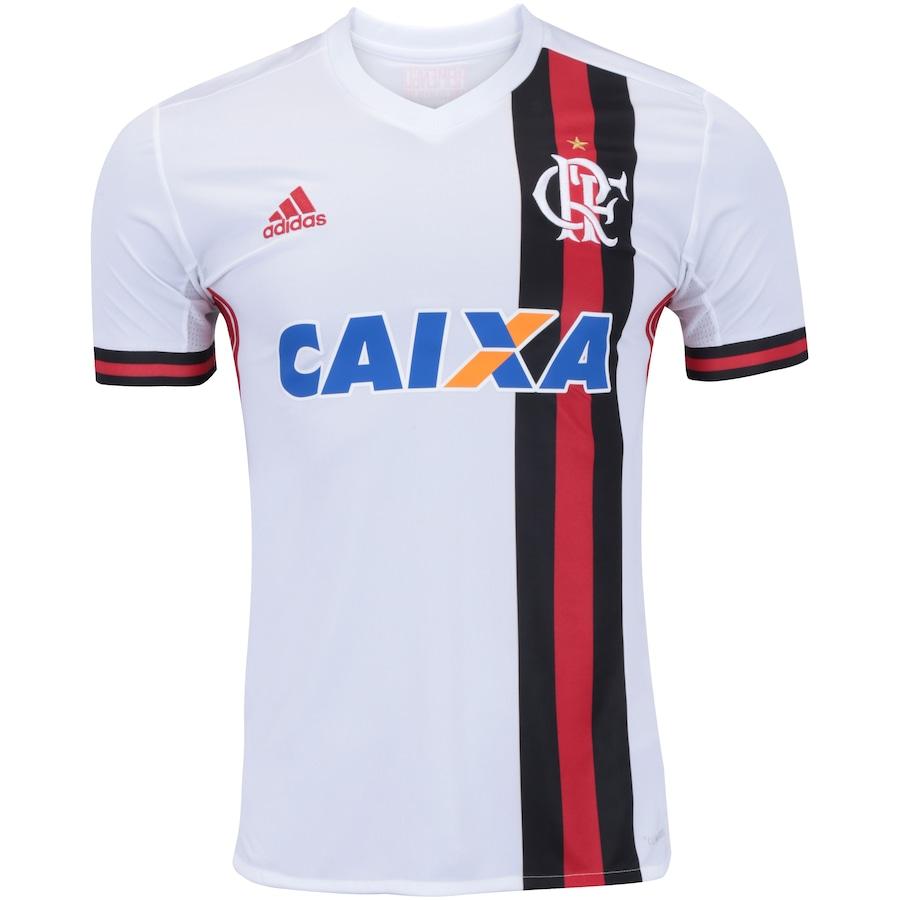 2b31ec9ad6 Camisa do Flamengo II 2017 adidas com Patrocínio Masculina