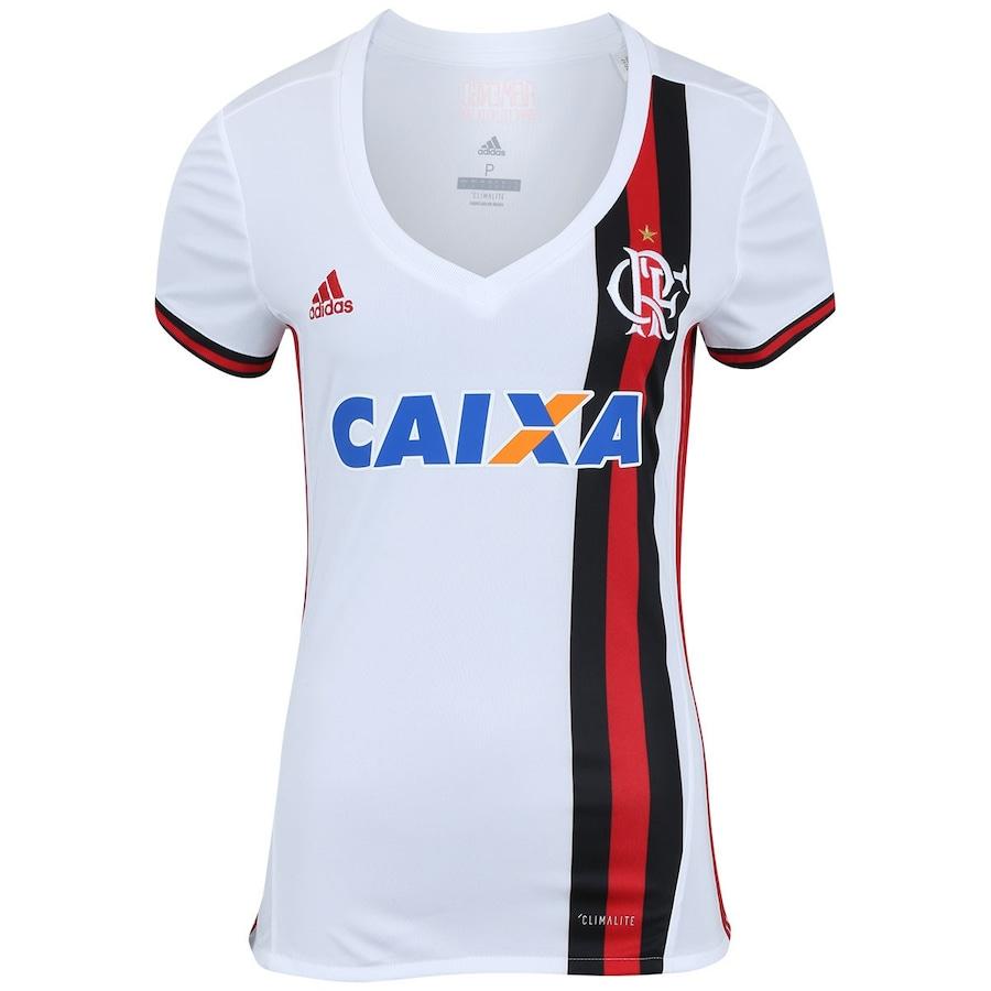 13d956148d Camisa do Flamengo II 2017 adidas com Patrocínio - Feminina