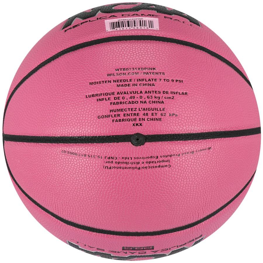bc8db244b8a08 Bola de Basquete Wilson NCAA 28.5 PK