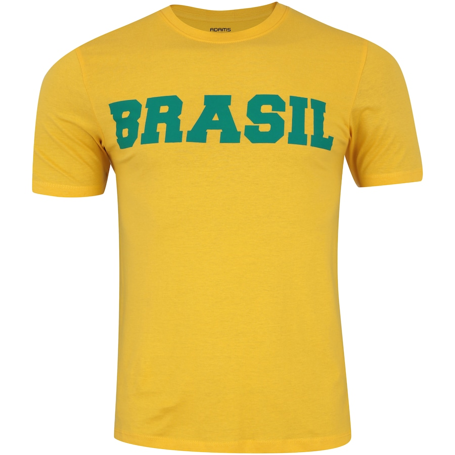 Camiseta do Brasil Fan 2018 nº 10 Adams - Masculina d71289d58d25e