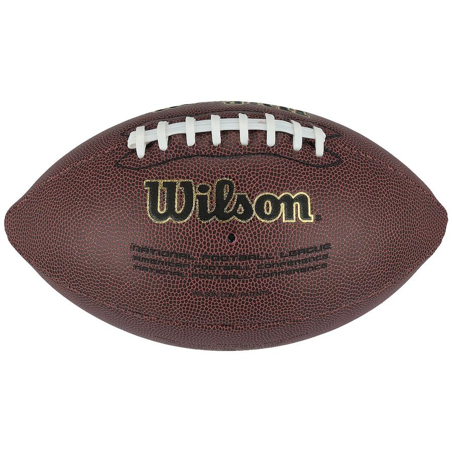 33f444a41c Bola de Futebol Americano Wilson NFL Super Grip Composite