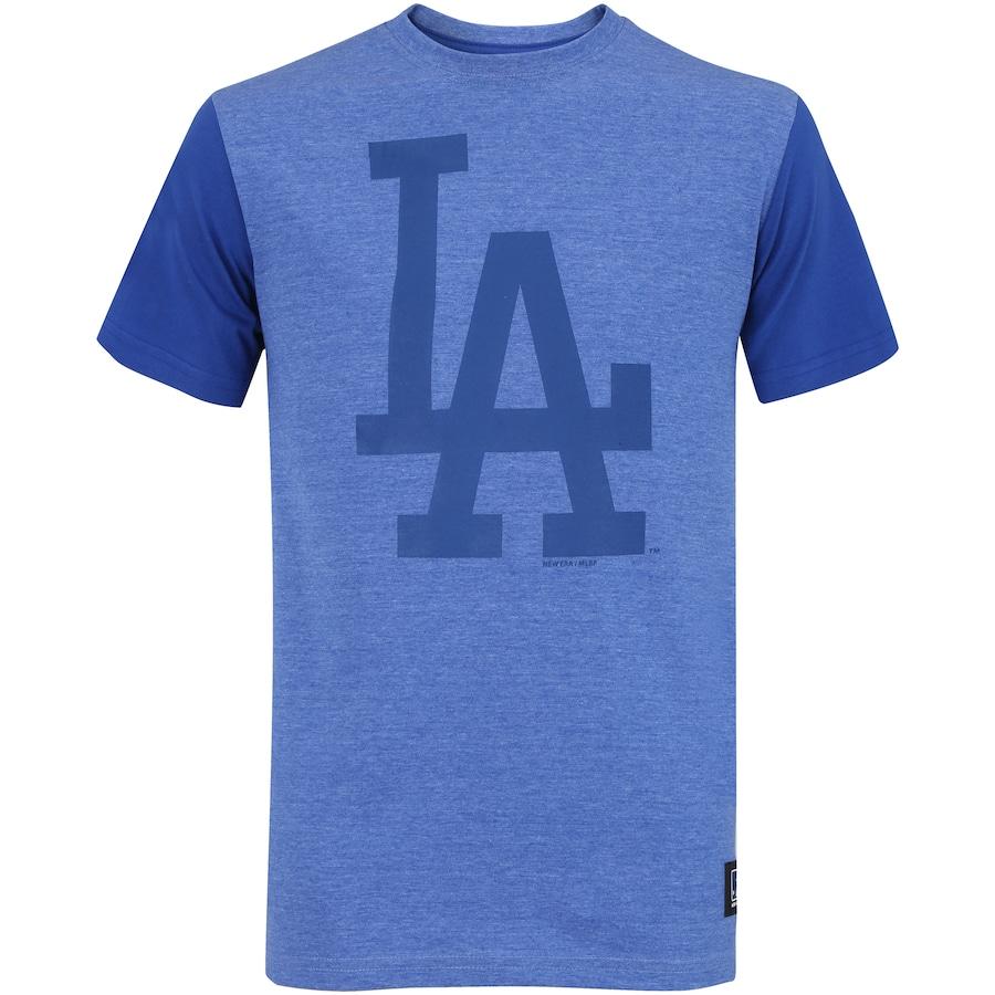 Camiseta New Era Los Angeles Dodgers Mescla 36 - Masculina f723cd33934