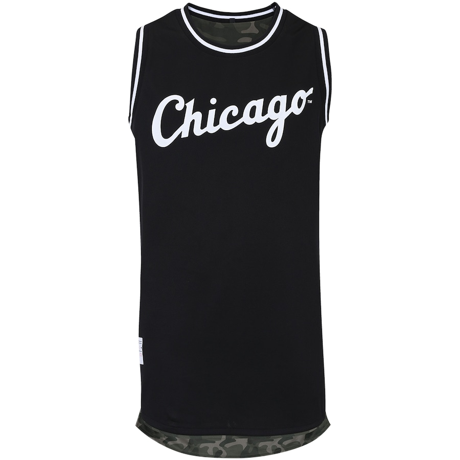 Camiseta Regata New Era Chicago White Sox Dupla Face f5809edf455