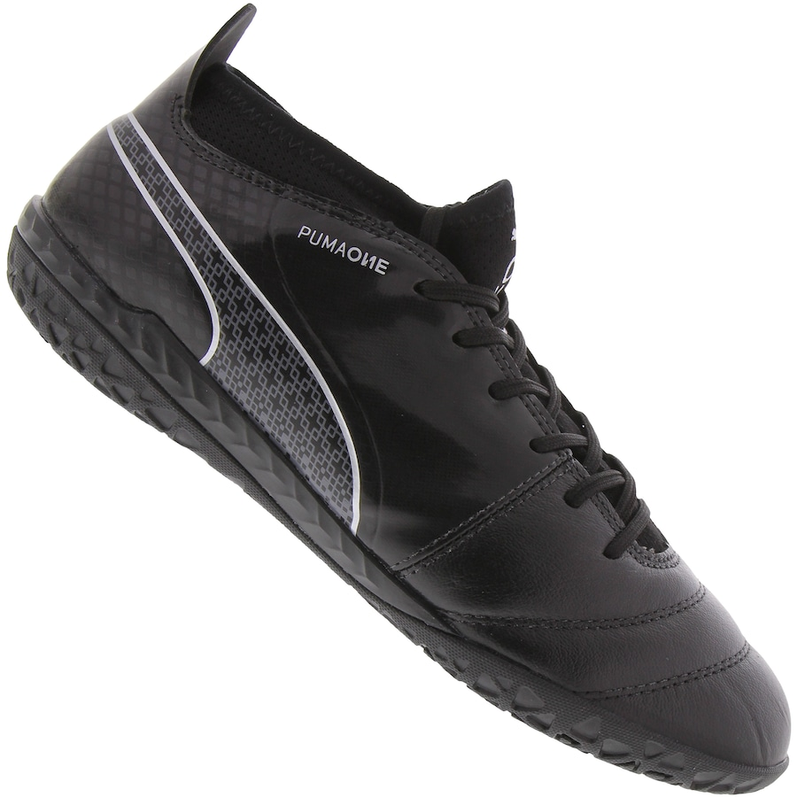 Chuteira Futsal Puma One 17.3 IN - Adulto f389d606cd0e0