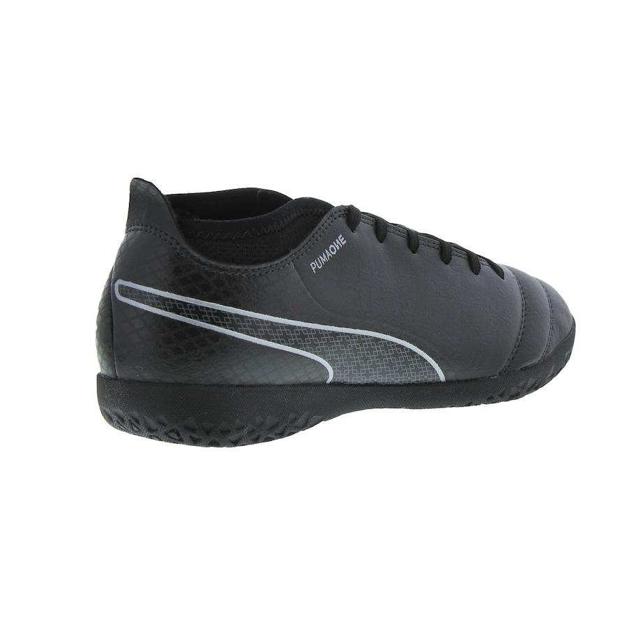 96fd488e85b Chuteira Futsal Puma One 17.4 IN - Adulto