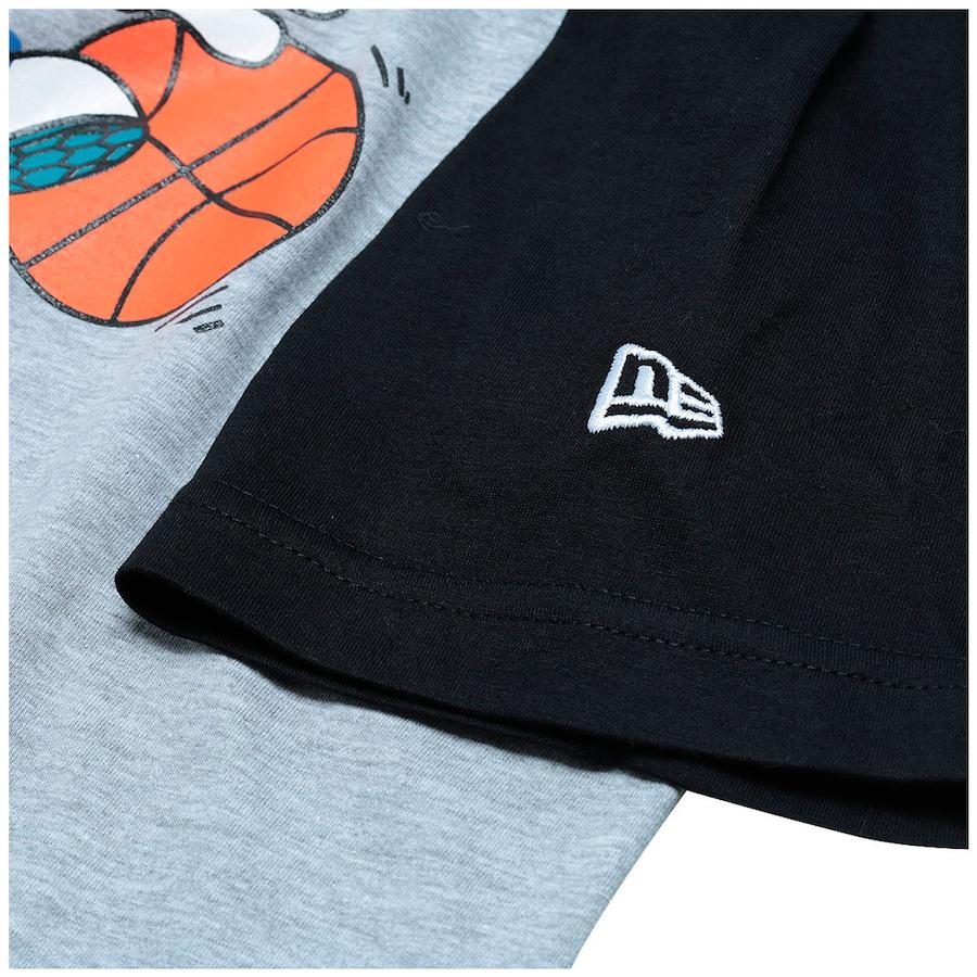 7cbc000c9f9 Camiseta New Era Usa Cap Rosa - Parchment N Lead
