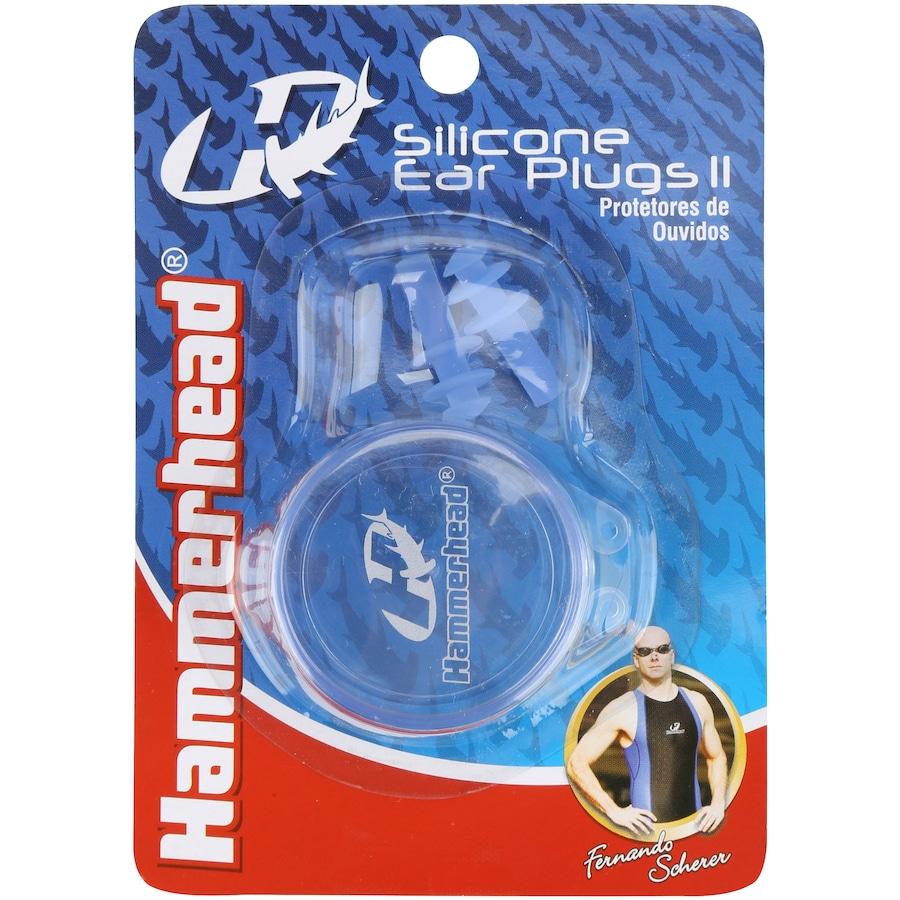 e0ccfda09 Protetor de Ouvido para Natação Hammerhead Ear Plugs II