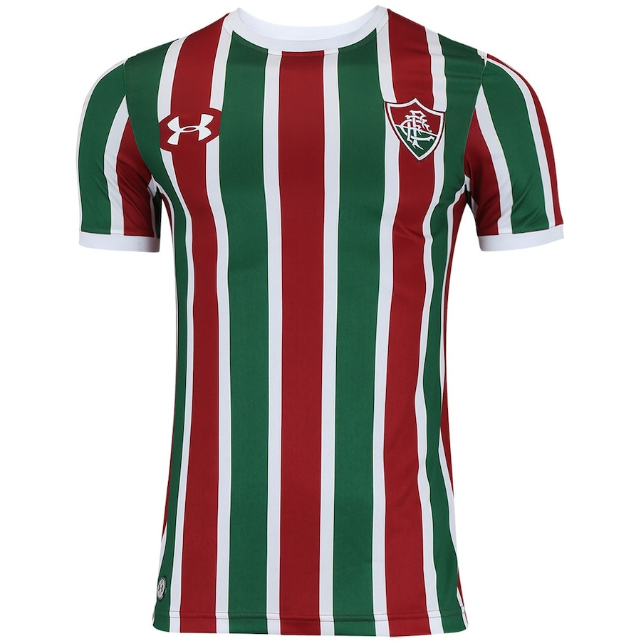 67461bf9290e2 Camisa do Fluminense I 2017 Under Armour - Masculina