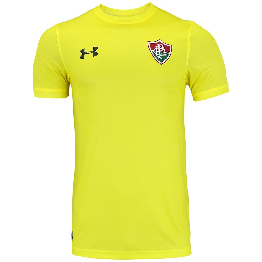 Camisa de Goleiro do Fluminense 2017 Under Armour Masculina c1773a069f04d