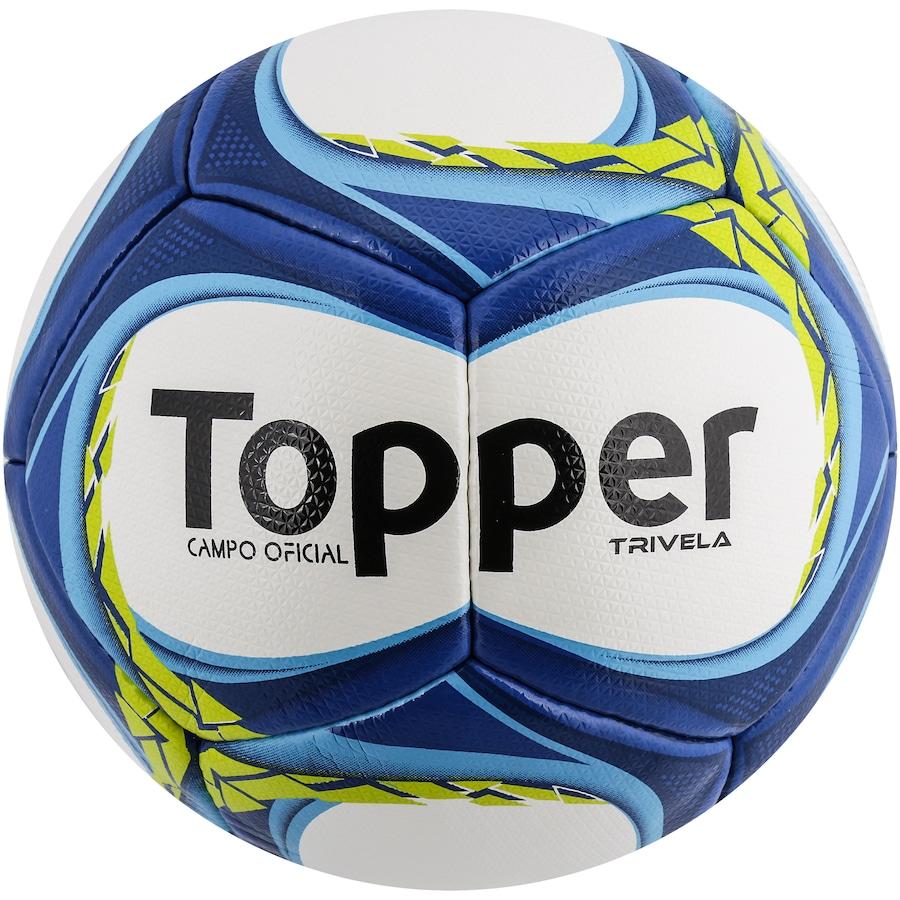 Bola de Futebol de Campo Topper Trivela V12 2c09f4873fea4