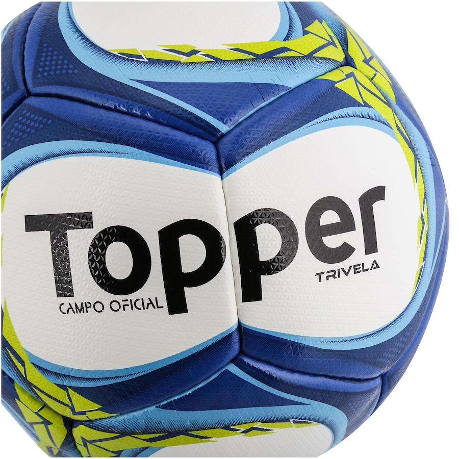 Bola de Futebol de Campo Topper Trivela V12 fce07e6e13675