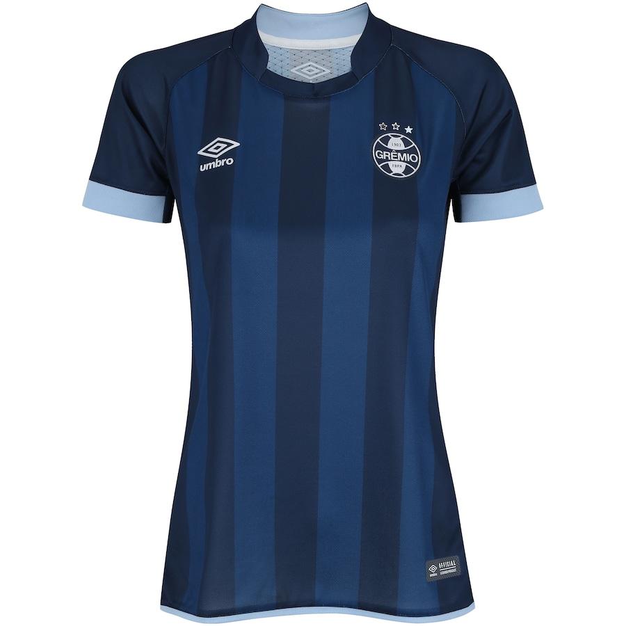 81c4b830d3 Camisa do Grêmio III 2017 Umbro - Feminina