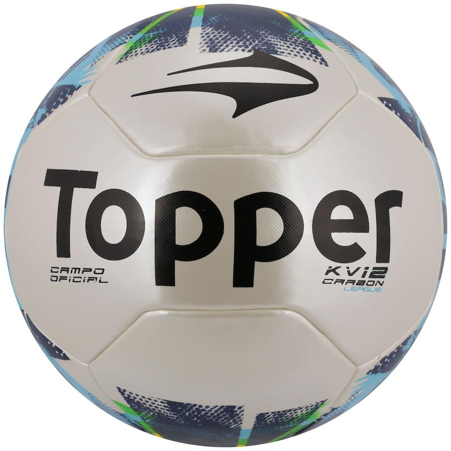 Bola de Futebol de Campo Topper KV Carbon League II 76739b2919d99