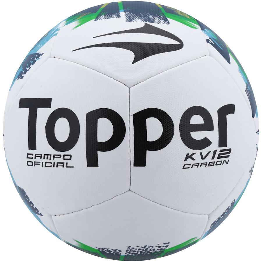 Bola de Futebol de Campo Topper KV Carbon II 59415e3b90283