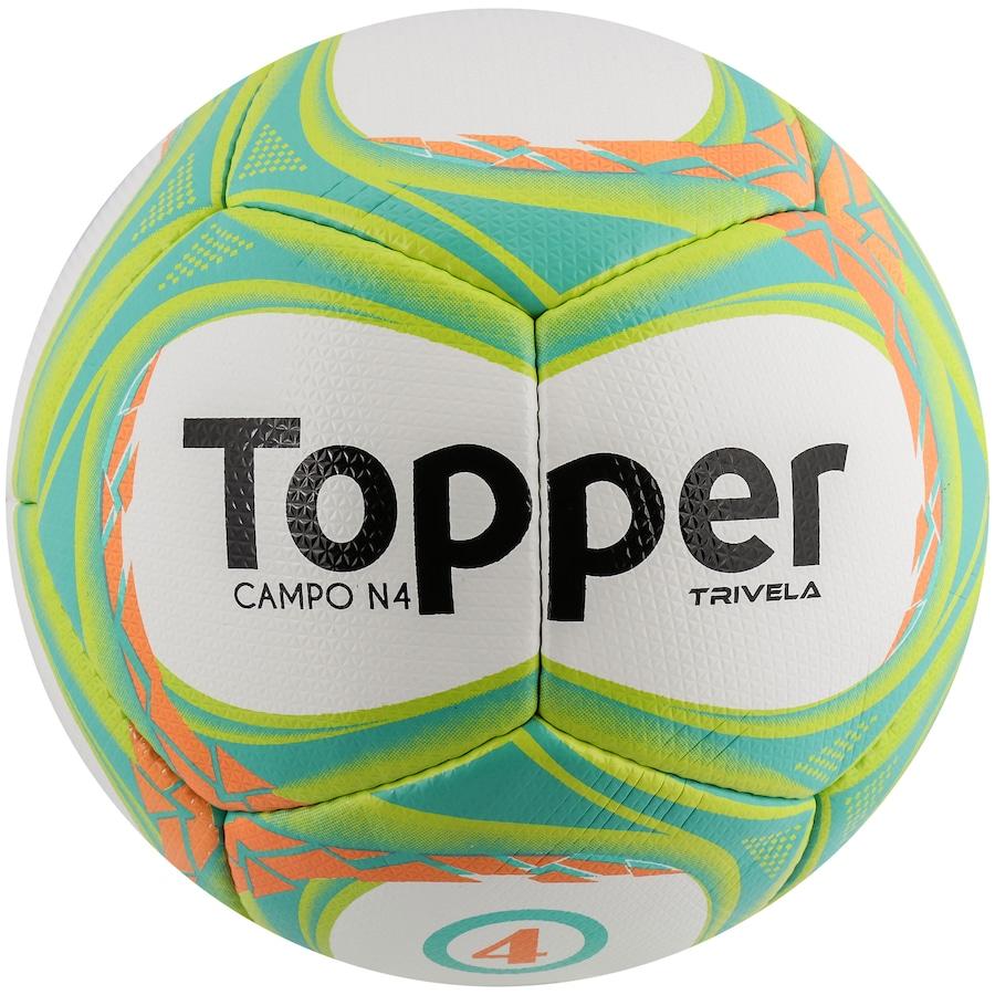 Bola de Futebol de Campo Topper Trivela V12 N4 86643ddcd4ae2
