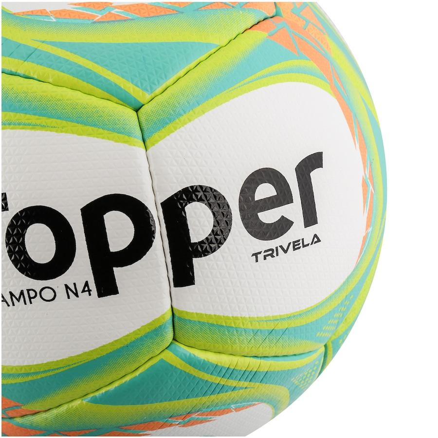 Bola de Futebol de Campo Topper Trivela V12 N4 a705bd1386a1e