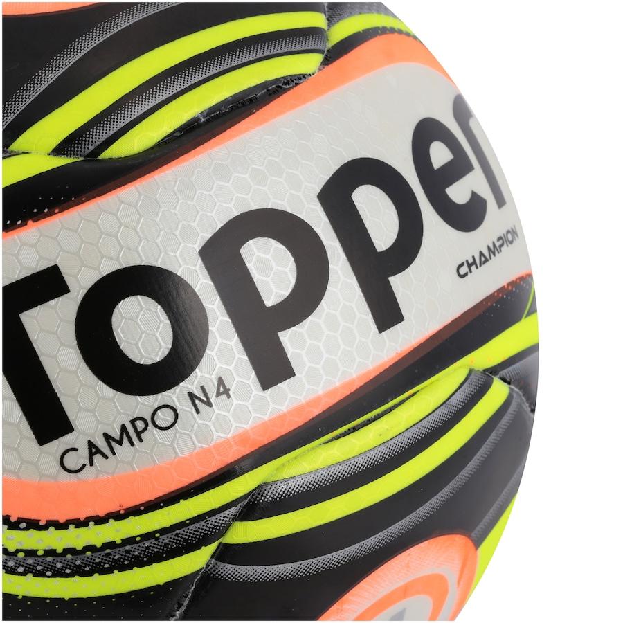 Bola de Futebol de Campo Topper Champion N4 a77a48bf888f8