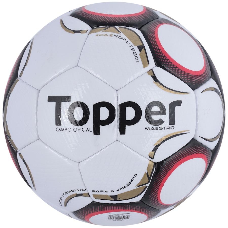 Bola de Futebol de Campo Topper Maestro TD2 2f6bbb9a2382f