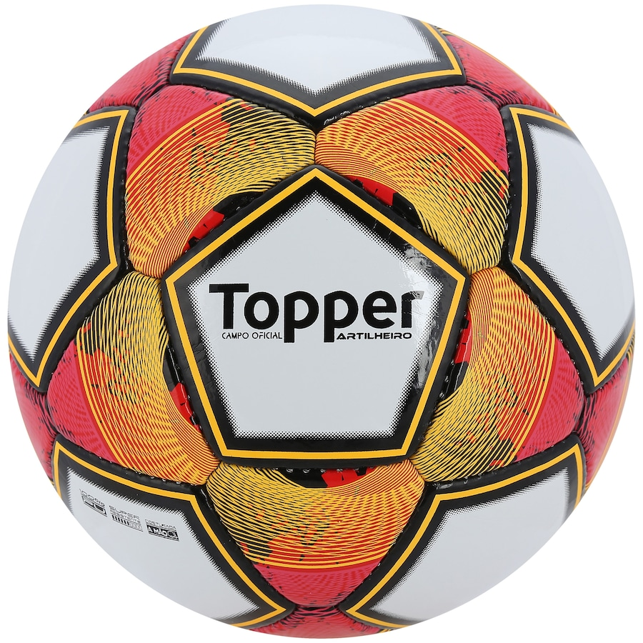 2bb21b998dbe9 Bola de Futebol de Campo Topper Artilheiro