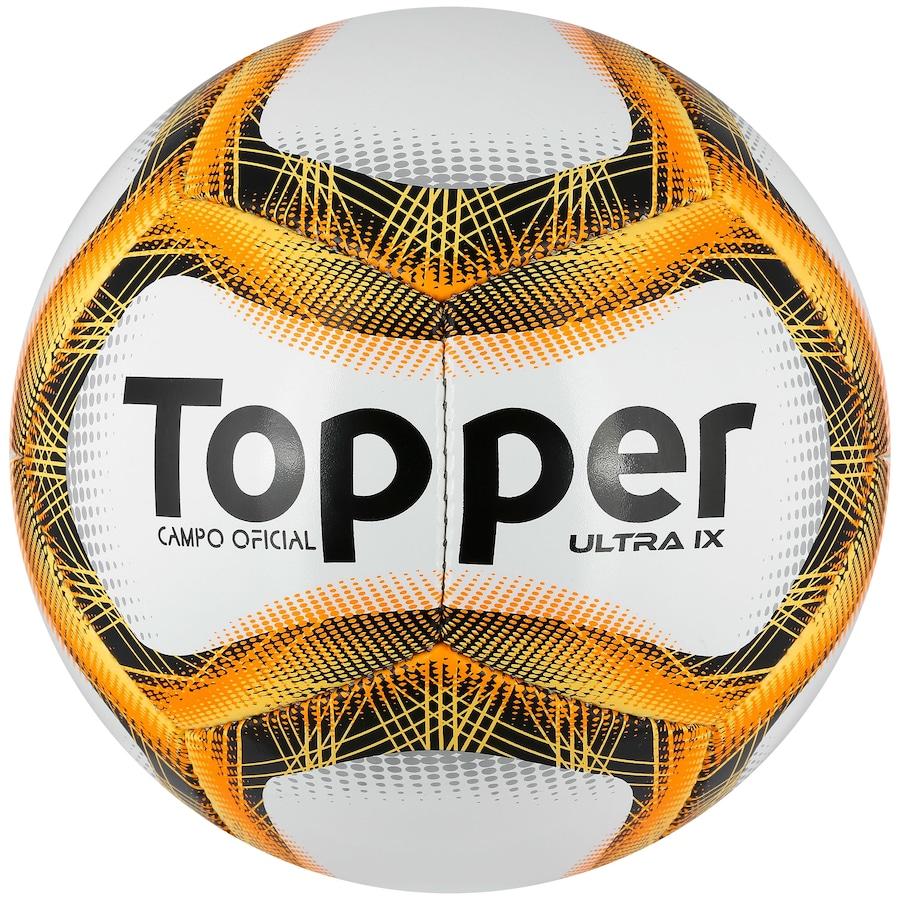 Bola de Futebol de Campo Topper Ultra IX d5858cf888c29