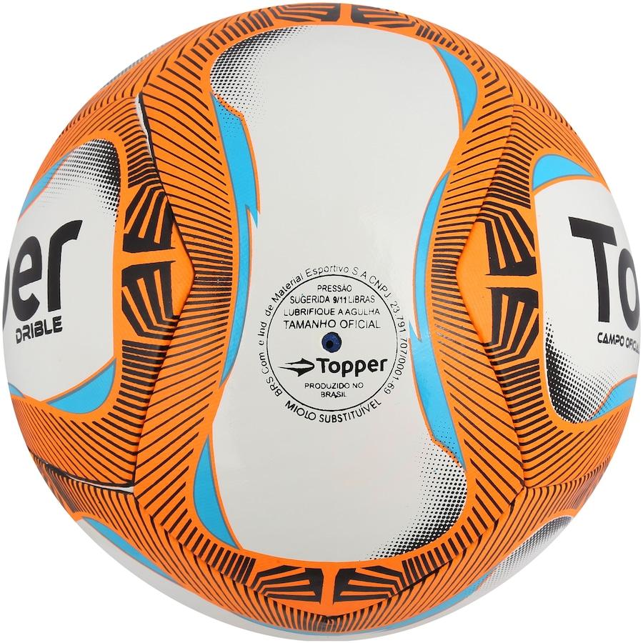 Bola de Futebol de Campo Topper Drible cc04aae427f15