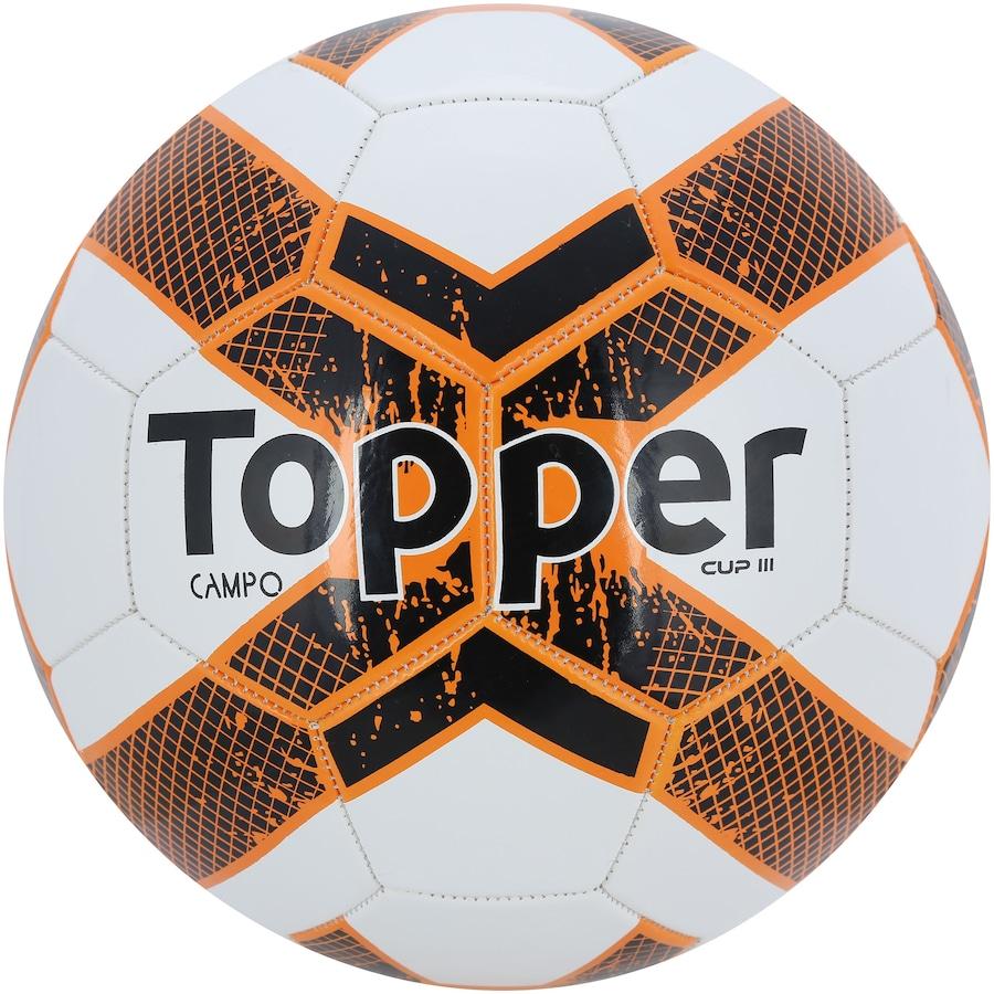 dbad6d3a23e57 Bola de Futebol de Campo Topper Cup III