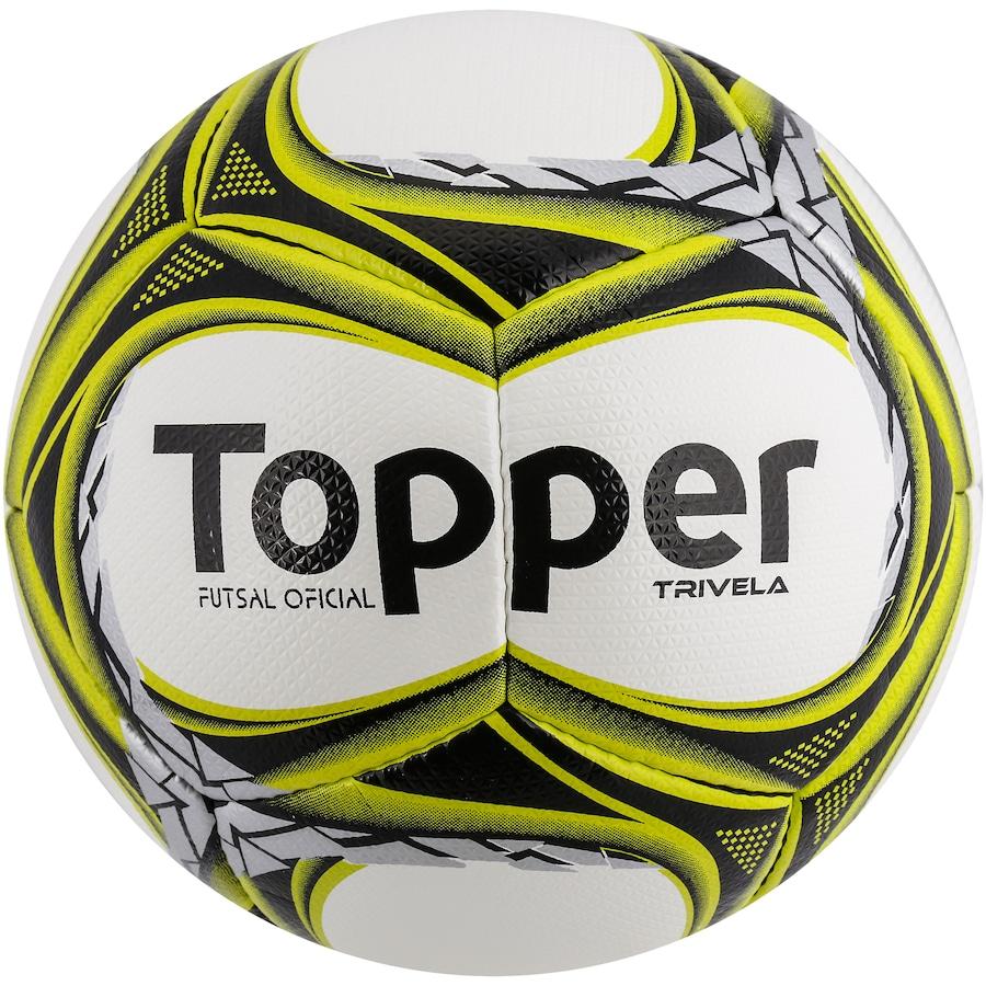 f6bdf6091 Bola de Futsal Topper Trivela V12