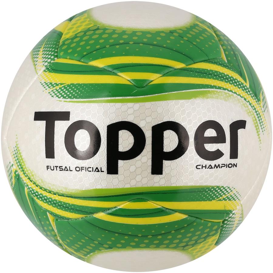 1329d2e18b Bola de Futsal Topper Champion