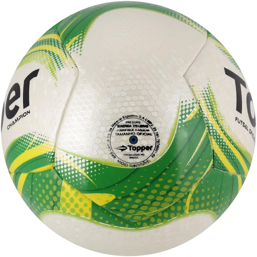Bola de Futsal Topper Champion 0b138dbe1beba