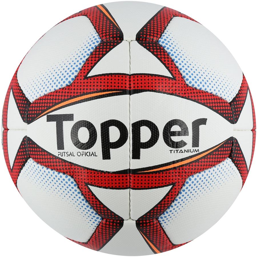 3b290c3a22607 Bola de Futsal Topper Titanium