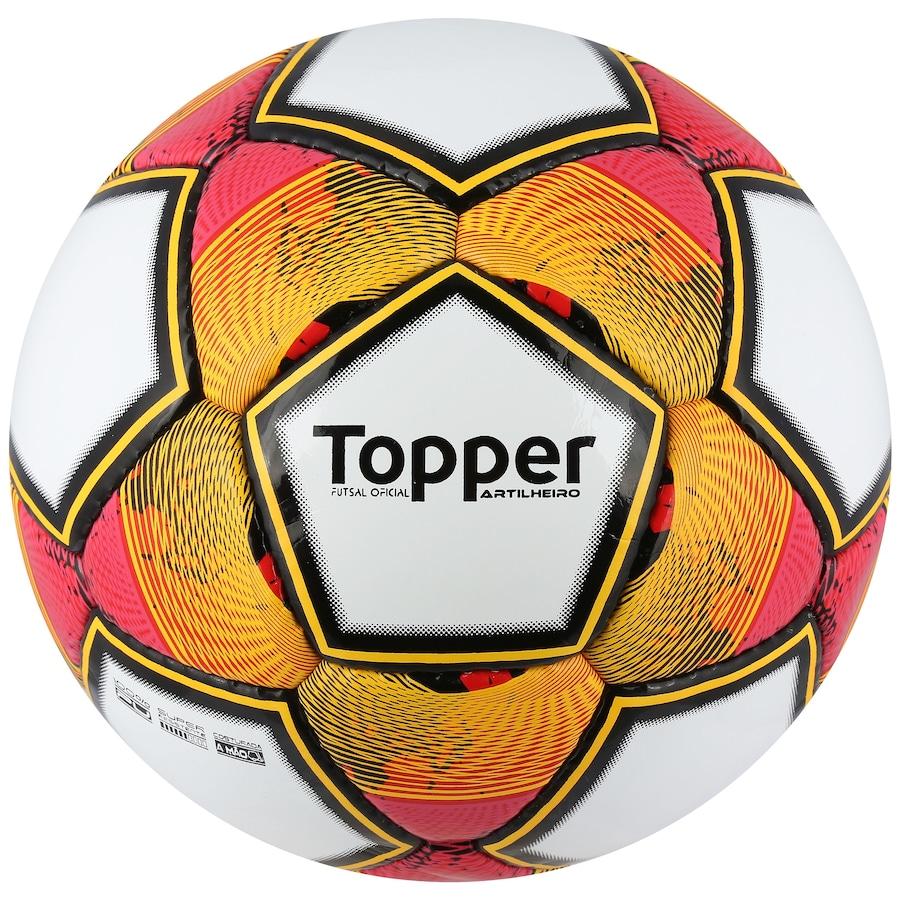 Bola de Futsal Topper Artilheiro 3e000a82bc7dd