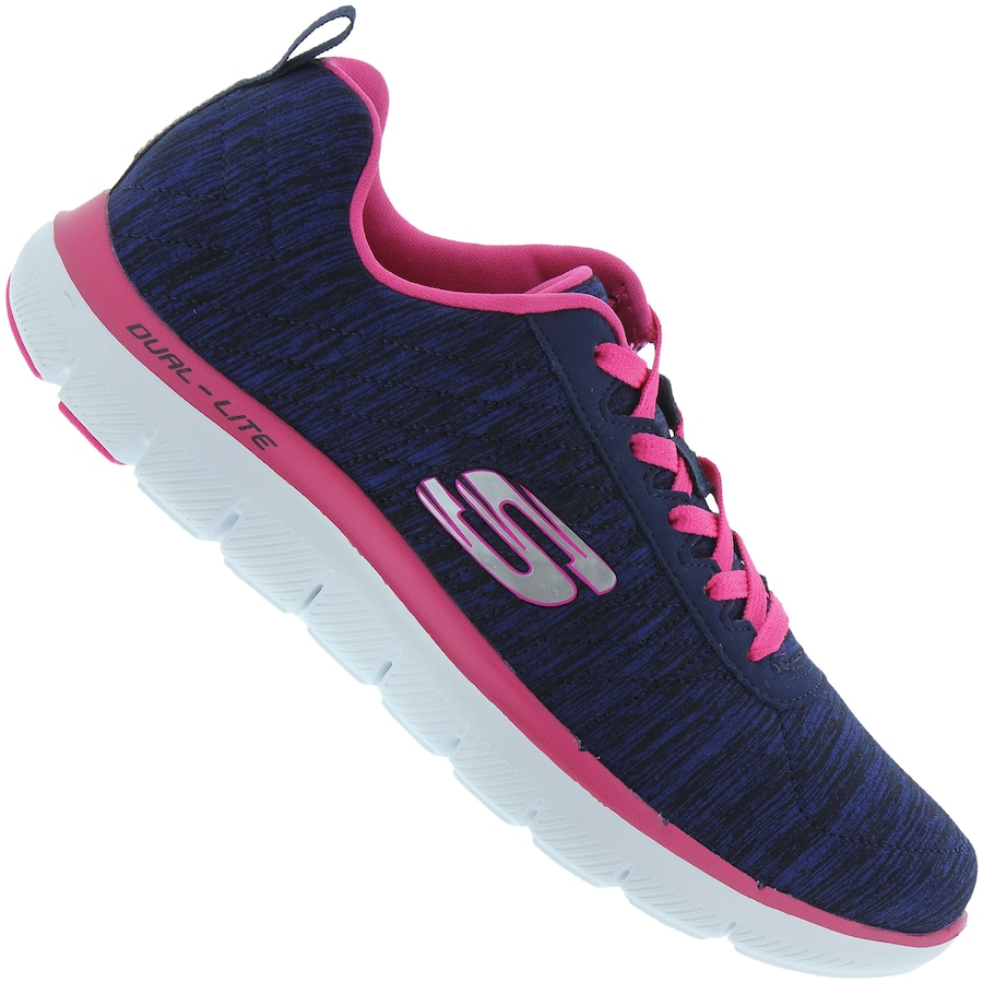 77032f22f3 Tênis Skechers Flex Appeal 2.0 - Feminino