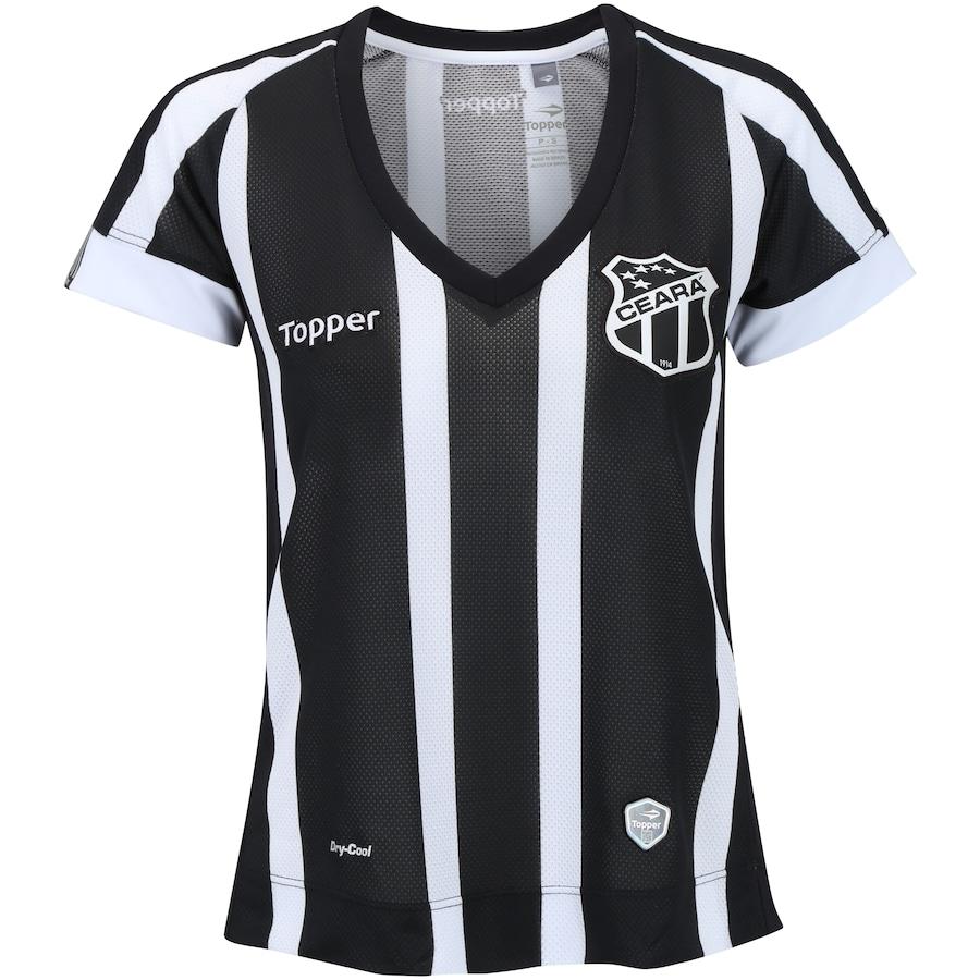 1d7c82231ce03 Camisa do Ceará I 2017 Topper - Feminina