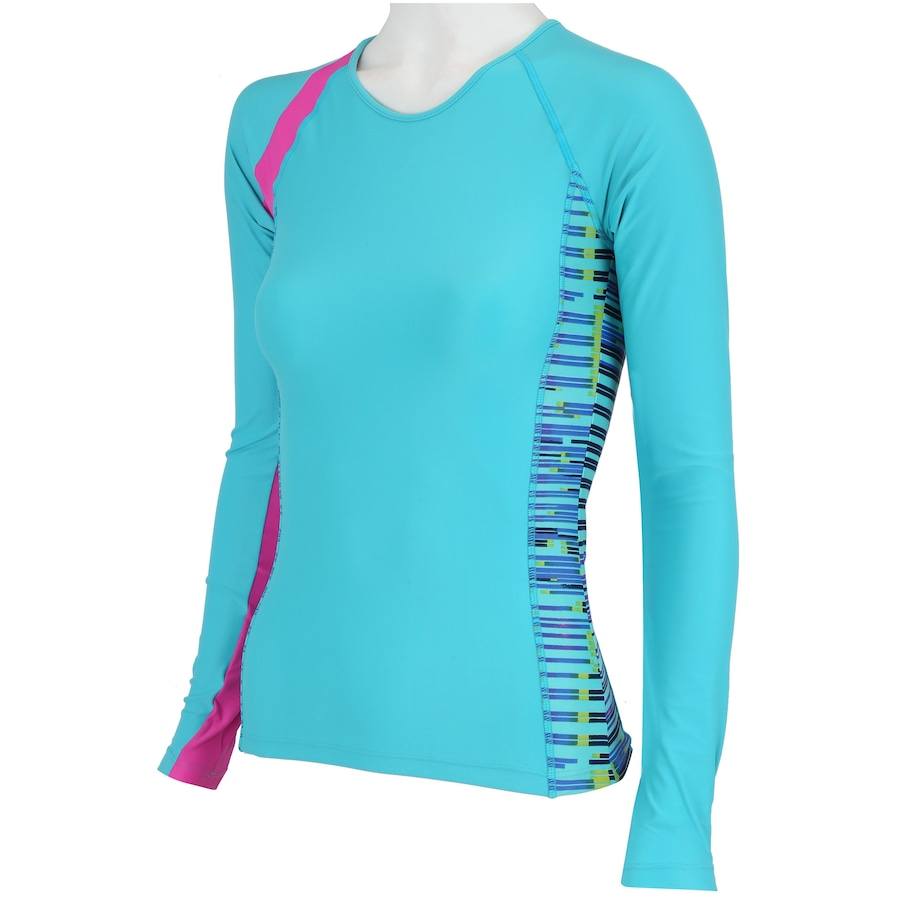 3dd2e56c01 ... Camiseta Manga Longa com Proteção Solar UV Oxer Samoa ...