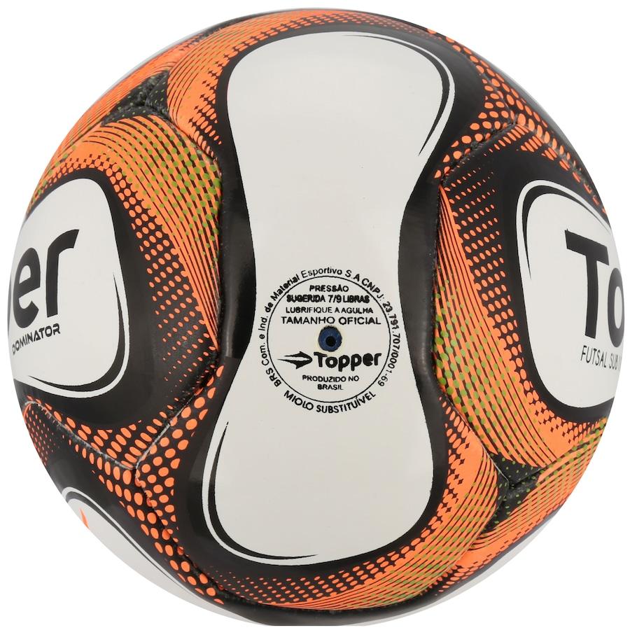Bola de Futsal Topper Dominator Sub 11 226c6004a1397