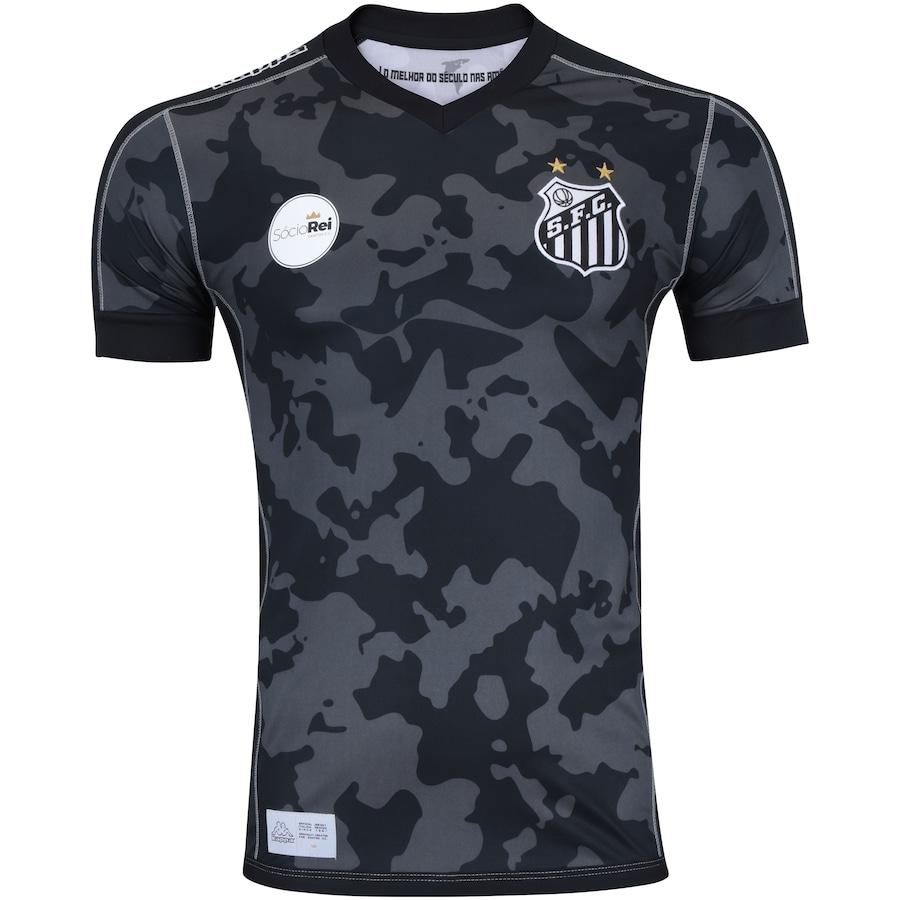 Camisa do Santos III 2017 Kappa - Masculina 7a302f5f38b65
