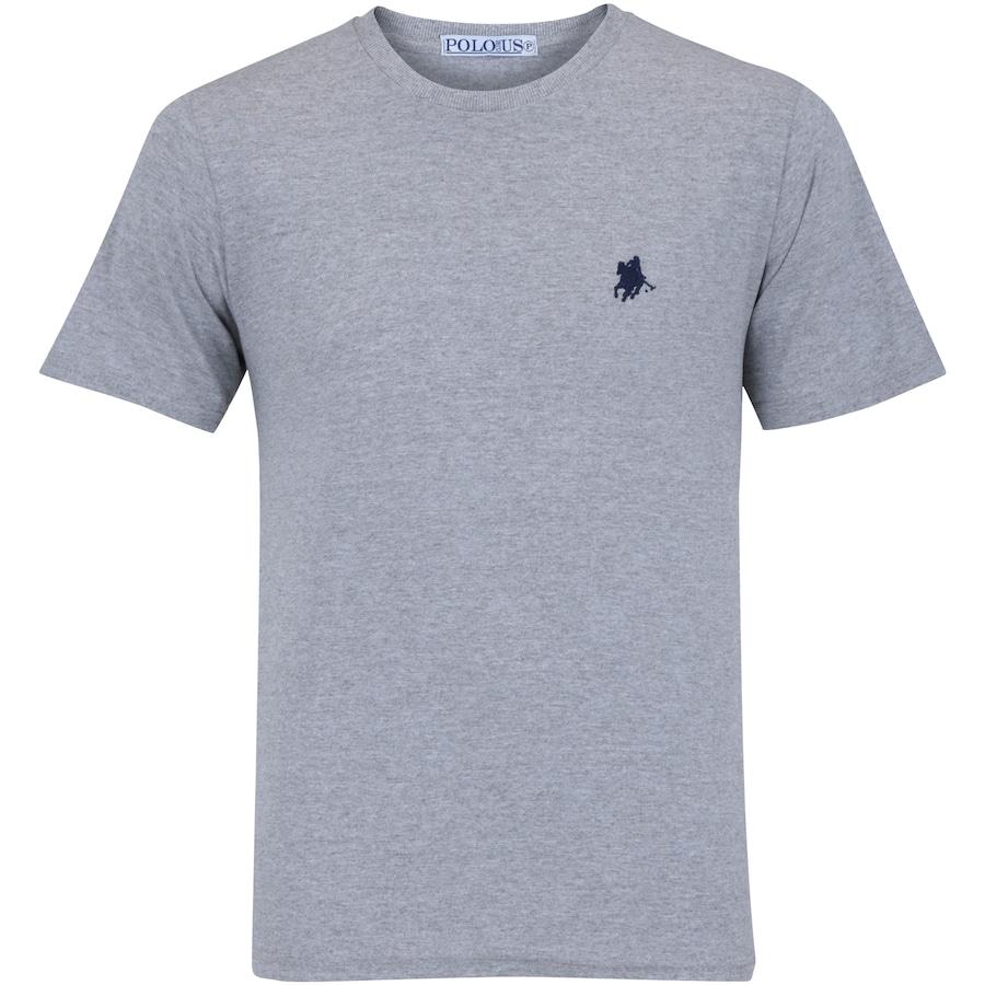 Camiseta Polo US Gola Careca 606TSGCB - Masculina a945e48ac10