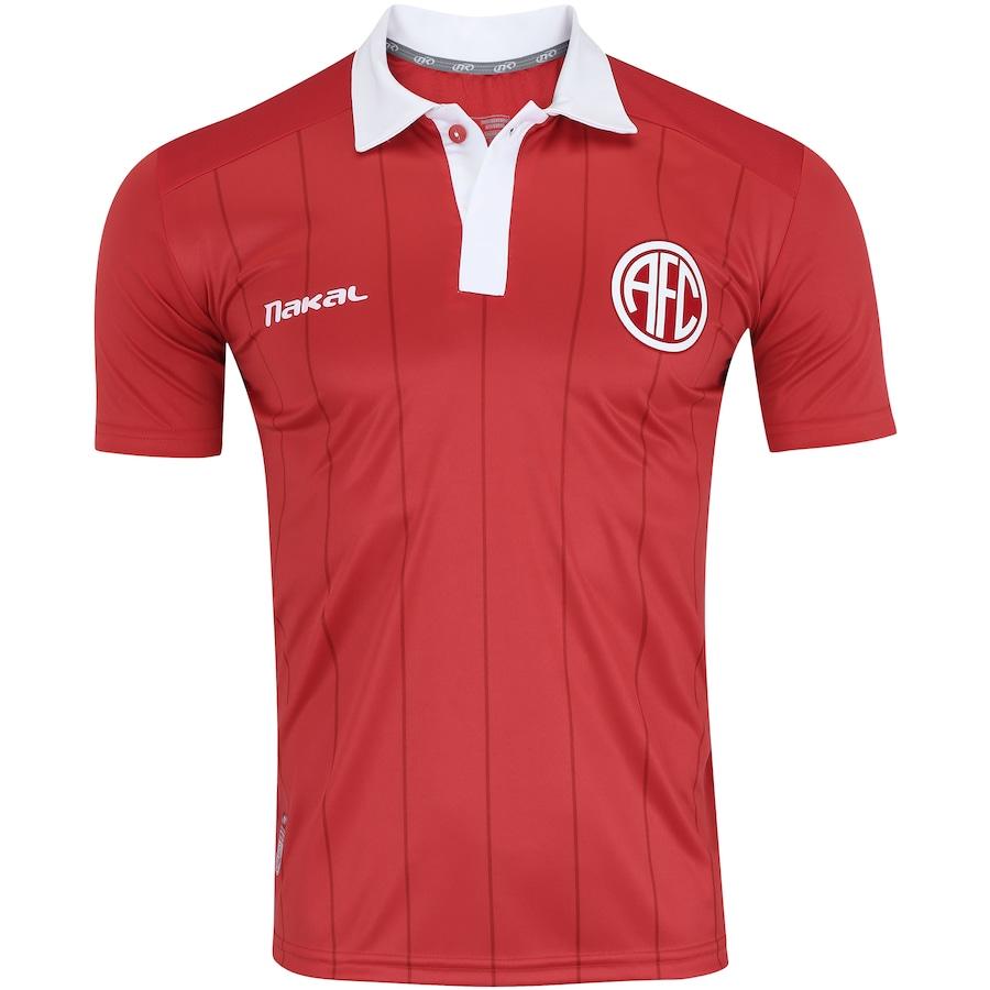 Camisa do América-RJ I 2017 nº 10 Nakal - Masculina 39334f7821ca3