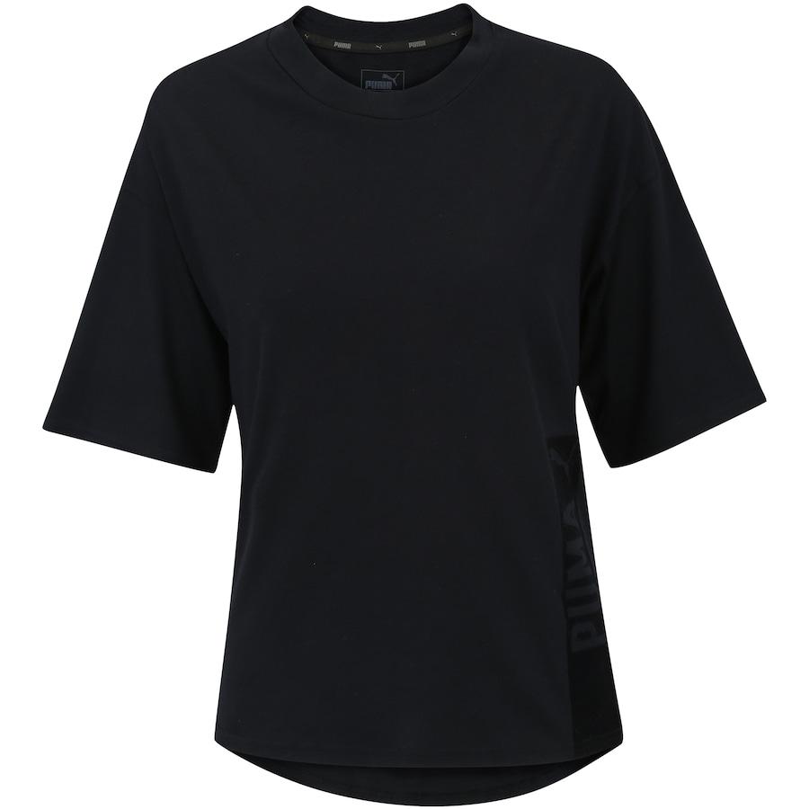 7294bf761a Camiseta Puma Fusion Trend - Feminina