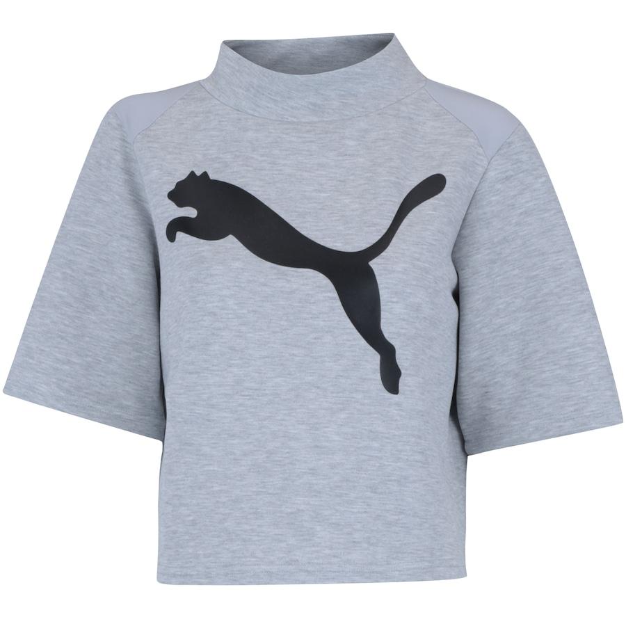 Camiseta Puma Evostripe Sweat - Feminina 526337c467af2
