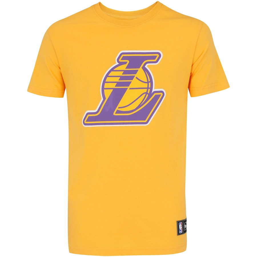 Camiseta New Era Los Angeles Lakers And Color - Masculina 3055d26adfdfa