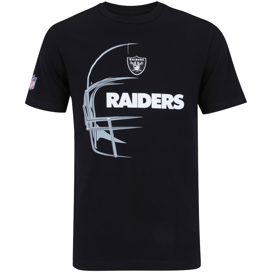9062c94502 Camiseta New Era Oakland Raiders Capacete - Masculina