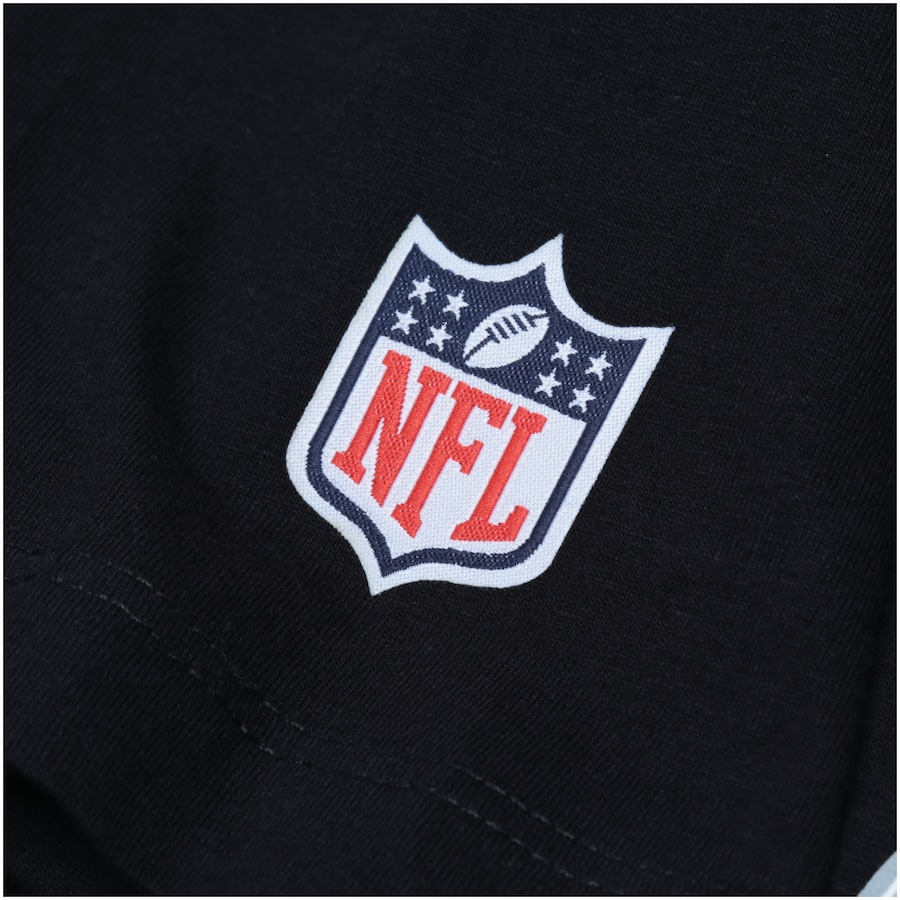 Camiseta New Era Oakland Raiders Capacete - Masculina 68fcd46a11f1a