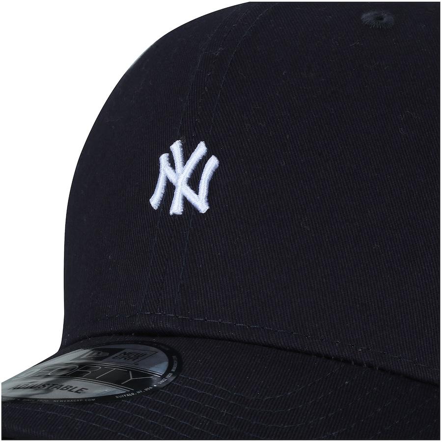 ... Boné Aba Curva New Era 940 New York Yankees Mini Logo - Snapback -  Adulto ... bee3e84ad90