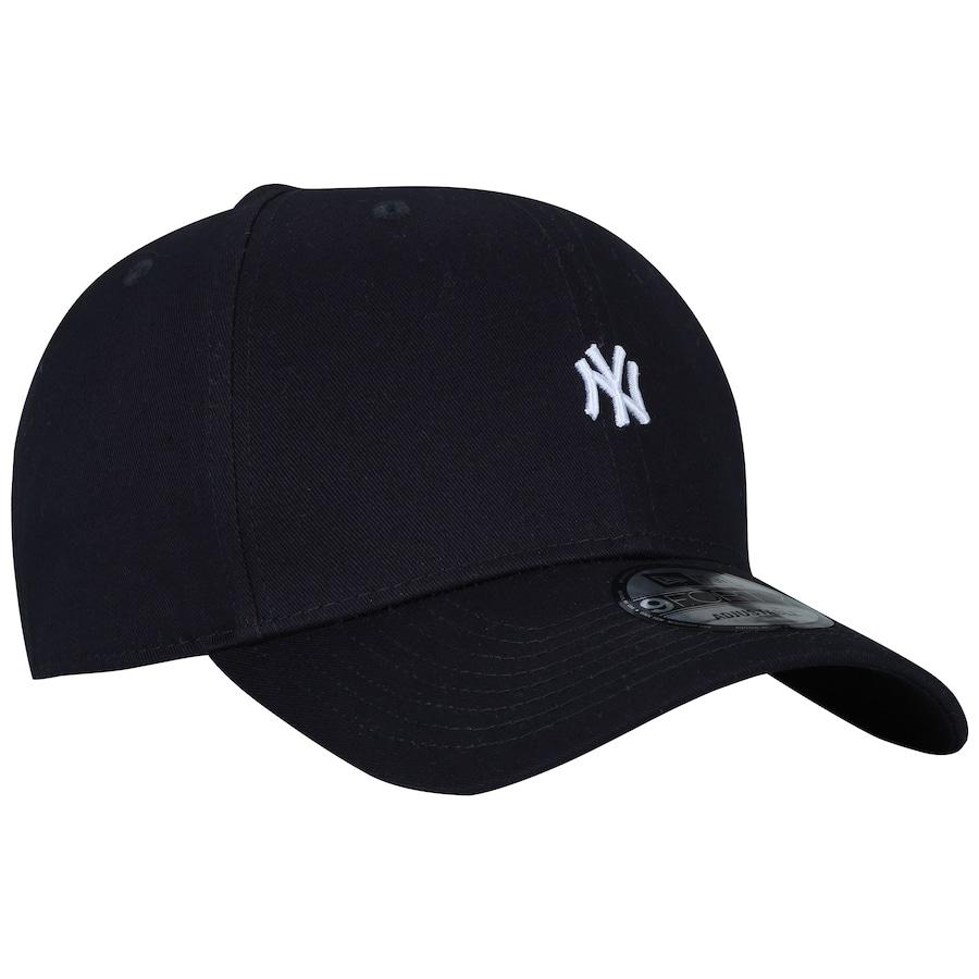 ... Boné Aba Curva New Era 940 New York Yankees Mini Logo - Snapback -  Adulto ... 8b37e6232d49e