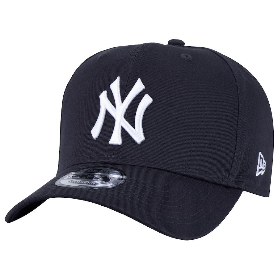 eac219ae567e7 Boné Aba Curva New Era 940 New York Yankees - Snapback - Ad