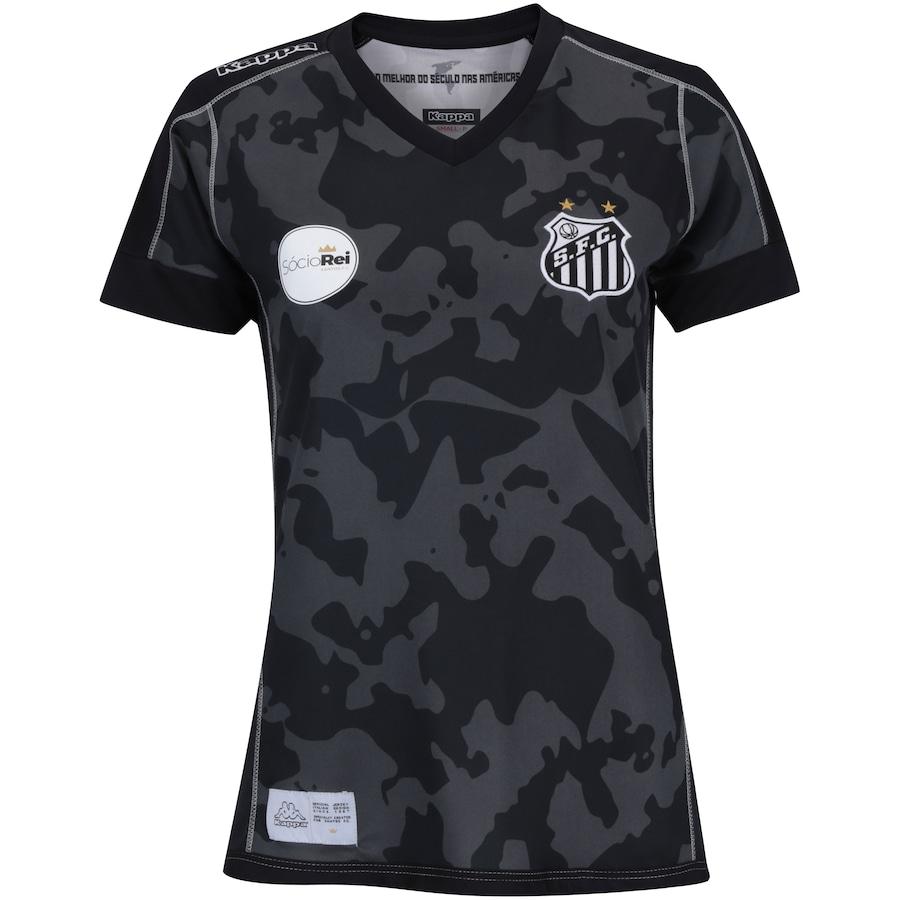 c1caa7775ccda Camisa do Santos III 2017 Kappa - Feminina