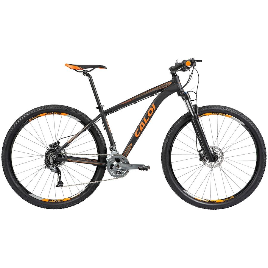 Mountain Bike Caloi Moab - Aro 29 - Câmbio e Freio Hidráulico Shimano  Alivio - 27 Marchas e10f7509ec2cf